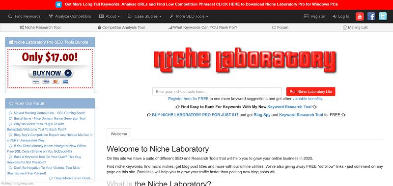 Niche Laboratory