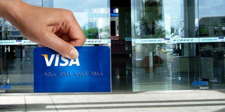 تبلیغات ویزا کارت