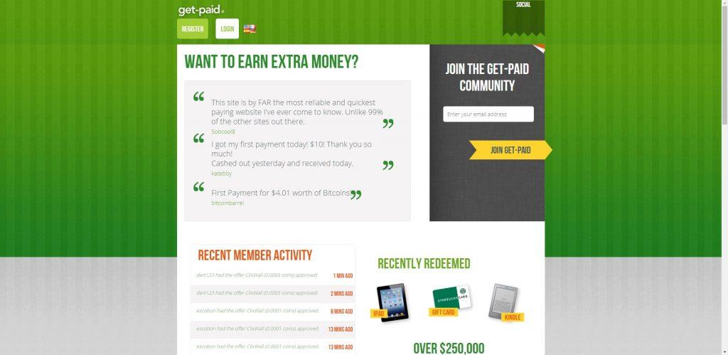 سایت get paid